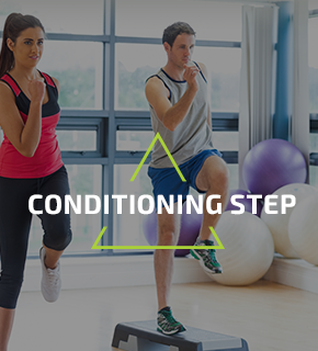 Conditioning step